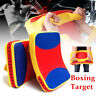 2 Sizes Muay Thai Karate MMA Taekwondo Boxing Target Focus Kick Punch Shield Pad