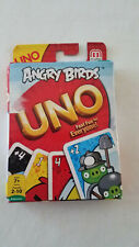 ANGRY BIRDS UNO NEW card game travel car rides vacations
