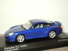 Porsche 911 996 Turbo Coupe 1999 - Minichamps 1:43 in Box *30316