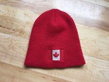 63905c96e23 BULA Hat Beanie Canada Canadian Flag Red CA  11217