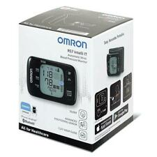 Omron RS7 Intelli IT Wrist Blood Pressure Monitor, Positioning Sensor, Bluetooth