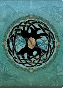 Celtic Mandala Travel-Size Lined Journal