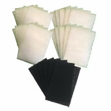AquaOne Compatible 510 - 20 Poly and 6 Carbon Filter Pads