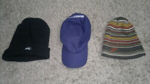 Selection of hats - 2 beanies 1 cap