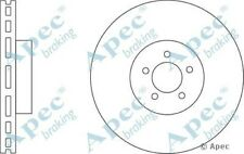 1x OE Quality Replacement Front Axle Apec Vented Brake Disc 5 Stud 355mm - Pair