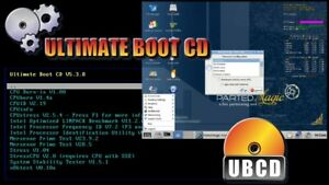 UBCD BOOT USB Bootable 2021 Edition Utility Toolkit