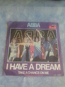 Single Abba I have a Dream
