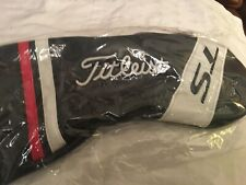 NEW(still in the wrapper) Titleist TS Black/White/Red Driver Headcover