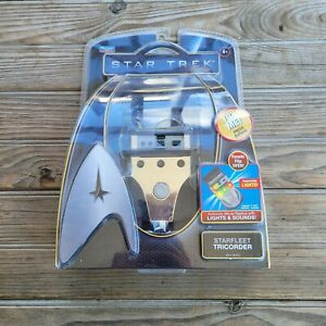 Star Trek Electronic STARFLEET TRICORDER Playmates 2009 Movie WORKS