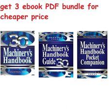 Machinery's Handbook, 30th Edition, by Erik Oberg | read description |