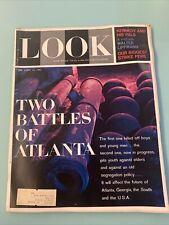 Look Magazine April 25 1961 Martin Luther King Civil Rights Battles Atlanta JFK