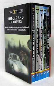 NEW Heroes and Heroines Trailblazers Set of 5 Books Paperback Biography Stories