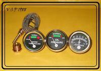 Massey Ferguson Gauge Kit OIL ,TEMPERATURE, AMPERE-MF35,MF50,MF65,MF135,MF150