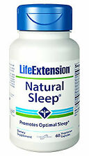 Life Extension Natural Sleep | 60 vegetarian capsules