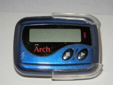 Sun Telecom Arch X03-V Front Display Alpha Numeric Pager with Holster - Blue