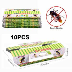 10 Schaben-Falle gegen Kakerlaken Silberfische Kellerasseln Ungeziefer DHL