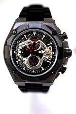 CASIO EFX530P-1A Edifice Analog Black Resin Band Watch