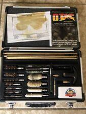 Dac Tech Universal Gun Cleaning Kit Brass Rods Pistol Rifle Aluminum Case
