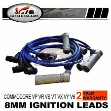 VN VT VP IGNITION LEADS COMMODORE VR VS  VX VY V6 3.8L FIT HOLDEN  6CYL 8MM