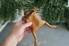 20 Real Frog/Toad purses w/sling. Wholesale. leather coin bags gag Unique gift.