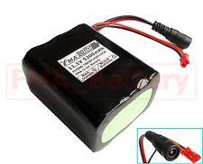 Protected Li-ion Battery 11.1V 5200mAh by Sanyo 18650 DIY LED Light 12V Power US