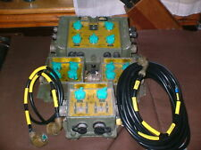 CLANSMAN MILITARY Vehicle ANR INTERCOM/HARNESS SYSTEM used tested & working