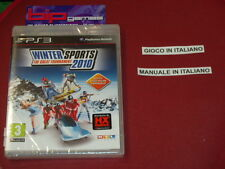 WINTER SPORTS THE GREAT TOURNAMENT 2010 PS3 PLAYSTATION 3 PAL NUOVO SIGILLATO