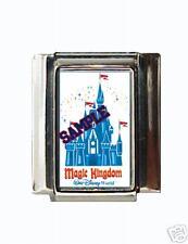 Disney Castle #1 Custom Italian Charm Magic Kingdom