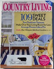 Country Living Magazine - August 2009 - Turn Trash into Treasure and More!