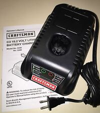 Craftsman Battery Charger 5336 for C3 19.2 Volt Lithium Battery 19.2v Diehard