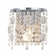 LED Crystal Wall Lamp Bedside Wall Sconce Rooms Decoration Lighting Wall Light