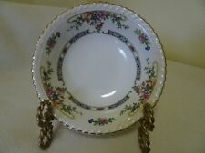 JOHNSON BROTHERS OLD ENGLISH-ENGLAND-EASTBOURNE-CEREAL BOWLS (2)-GOLD RIMS