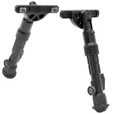 "Leapers TL-BPDM01 Matte Black M-LOK Mount Bipod Center Height 5.7""-8"""