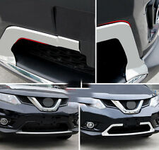 Chrome Front Grille Molding Cover Trim For Nissan Rogue X-trail 2014 2015 2016