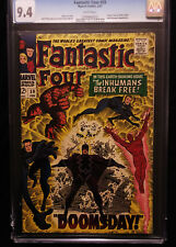 1967 Marvel Fantastic Four #59 CGC 9.4 White Pages     Plastic case is cracked