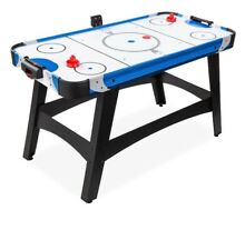 Air Hockey Table, 58in Mid-Size, 2 pucks 2 pushers and Led Score board,12v motor