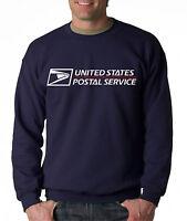 USPS POSTAL CREW NECK Sweatshirt with US Logo on Chest United States Service