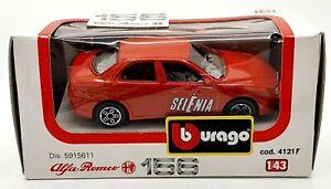 EBOND 4121 F Bburago Modellino Alfa Romeo 156 - 1:43 - 0136.