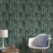 Superfresco Easy Paste The Wall Palm Leaf Green Wallpaper - A4