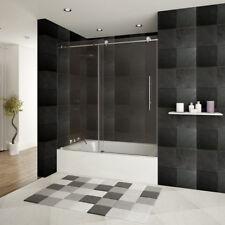 LessCare ULTRA-C 56-60 W x 62 H Bathtub Doors Chrome
