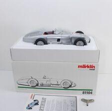 Märklin 81104 Mercedes Benz Silver Arrow W196 NR 2 Fangio with certificate gb210...