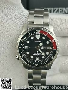 CITIZEN STUNNING PROMASTER AUTOMATIC MEN,S DIVER WATCH NY0085-86E NEW
