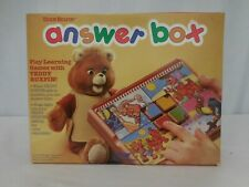 Teddy Ruxpin Answer Box Toy 1988 World of Wonder Complete with Box