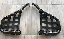 DINLI- 2 x FOOT PROTECT NET BRACKET(BLACK) DL801, 300cc, F140184-00 & F140185-00