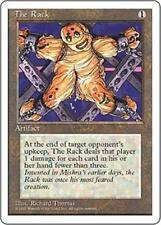 THE RACK Fourth Edition MTG Artifact Unc
