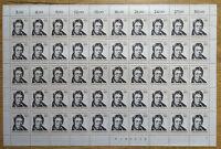Berlin 654 postfrisch (50 mal) Bogen Peter Christian Beuth 1981 Michel 50 €