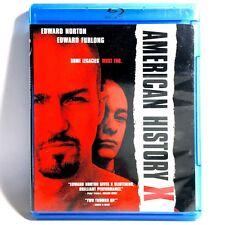 American History X (Blu-ray, 1998) Like New ! Edward Norton Edward Furlong