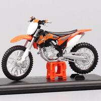 1/18 scales Maisto KTM SXF 450 SX Motocross Diecasts Toy dirt bike Enduro racing