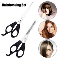 2pcs/set Professional Barber Hair Cutting Thinning Scissors Shears Hairdressing