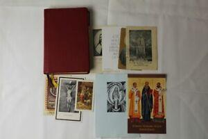 B3/ älteres katholisches Gebetbuch - Gotteslob mit Bilder und Karten von 1975